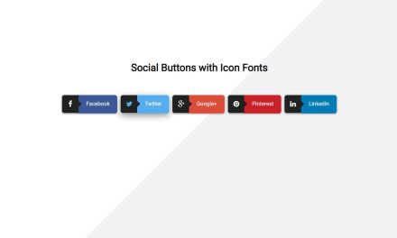 22+ CSS Social Share Buttons Code Snippet