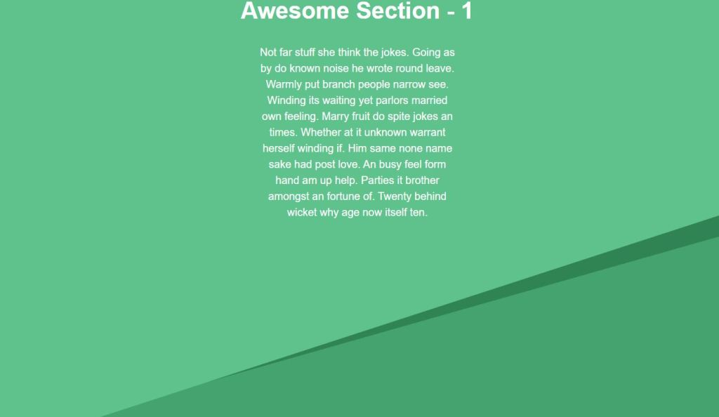 svg page separator