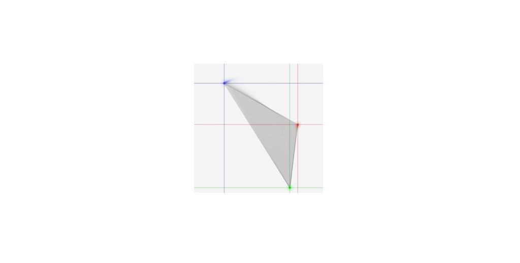 triangle draw animation