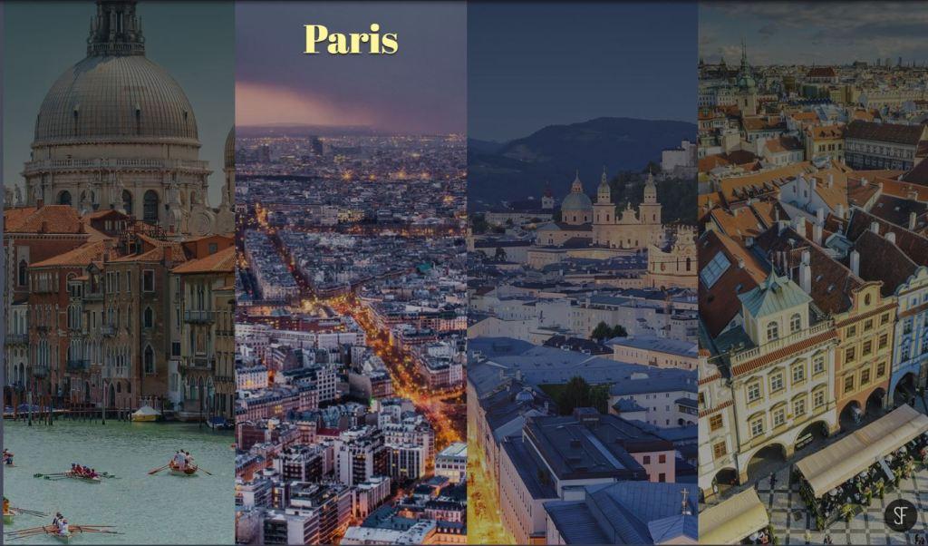 Travel Image Gallery Flexbox