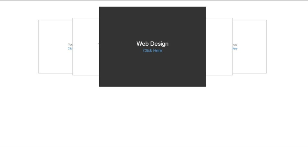 3D Bootstrap image slider example