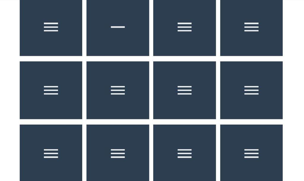 Bootstrap hamburger menu animations
