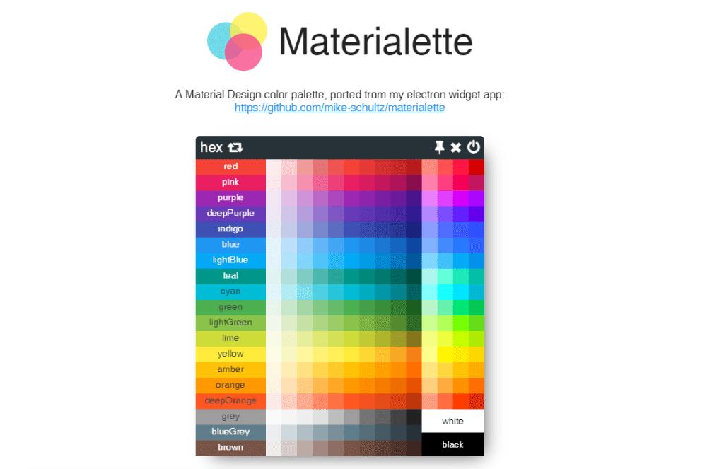 Materialette