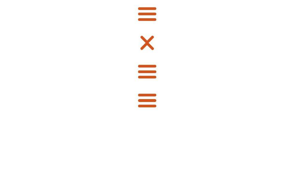 menu hamburger icon animations
