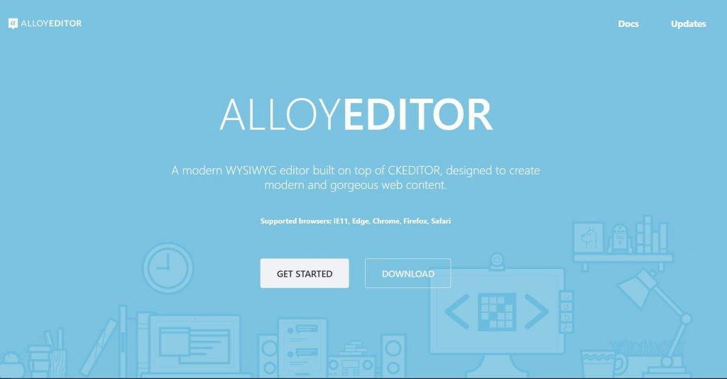 alloy editor