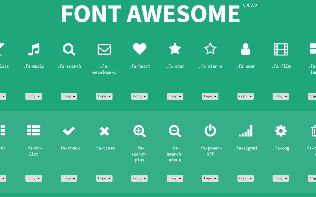 1000+ Bootstrap Icons Set For Better Web Design
