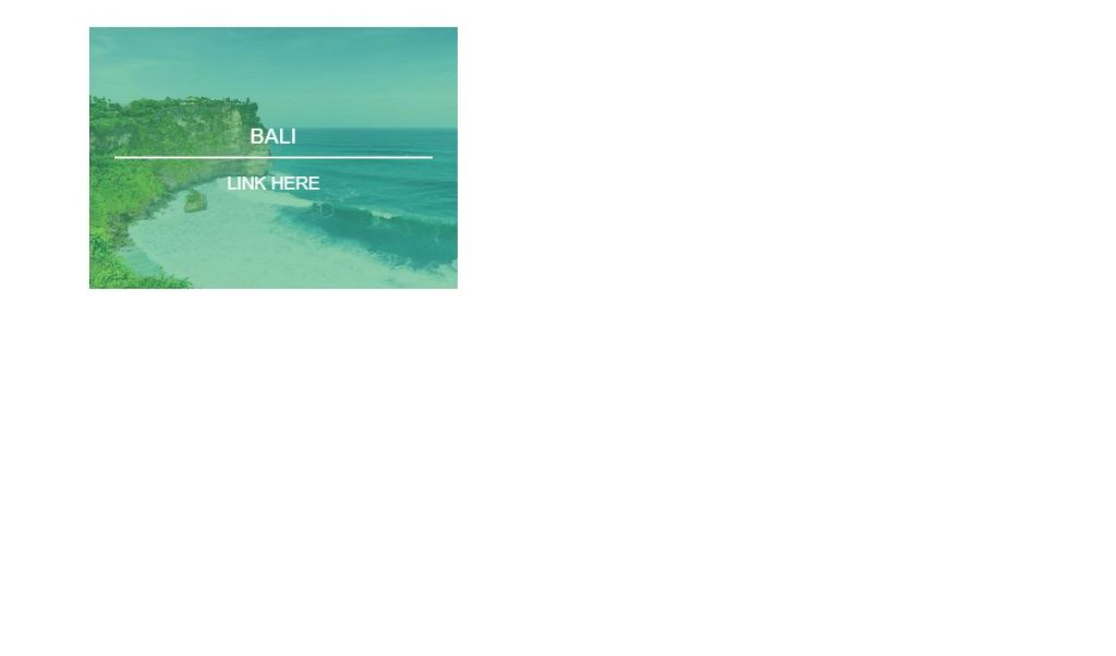 Bootstrap image hover effect
