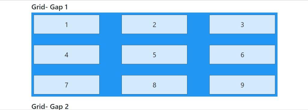 Bootstrap 4 grid system gap columns