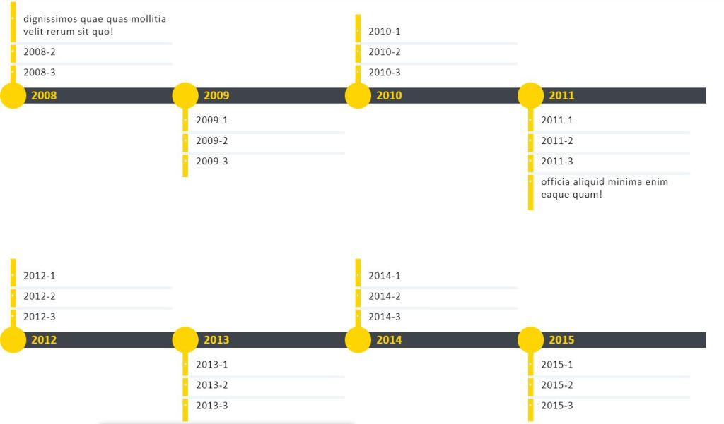 Horizontal Time line example with Jquery