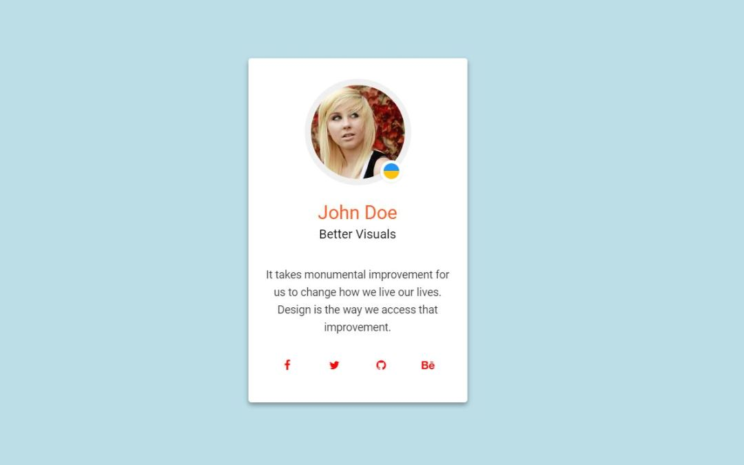 15+ Bootstrap Profile Card Examples