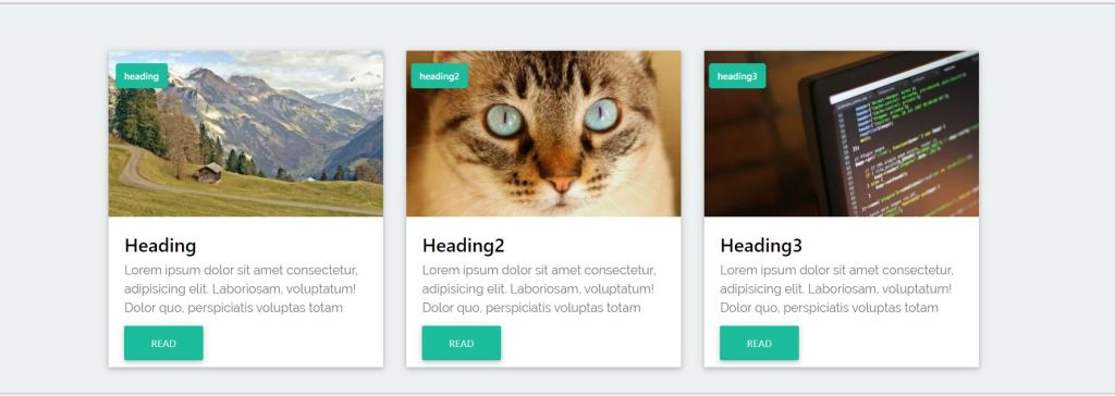 blog bootstrap card design examples