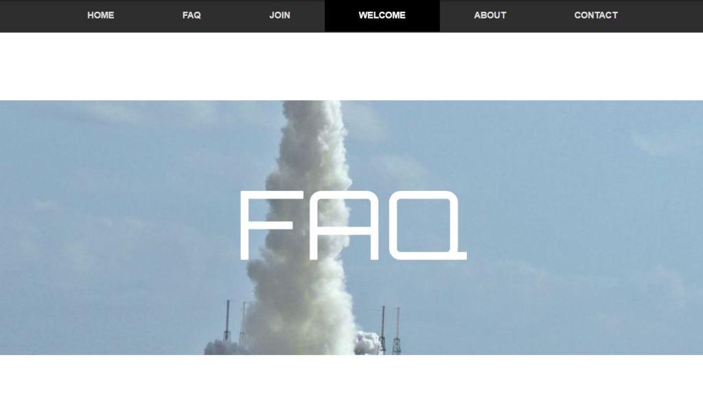 bootstrap parallax effect website template