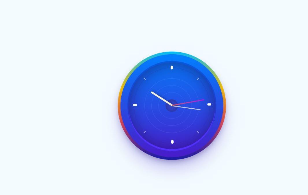 Bootstrap Clock Code Examples