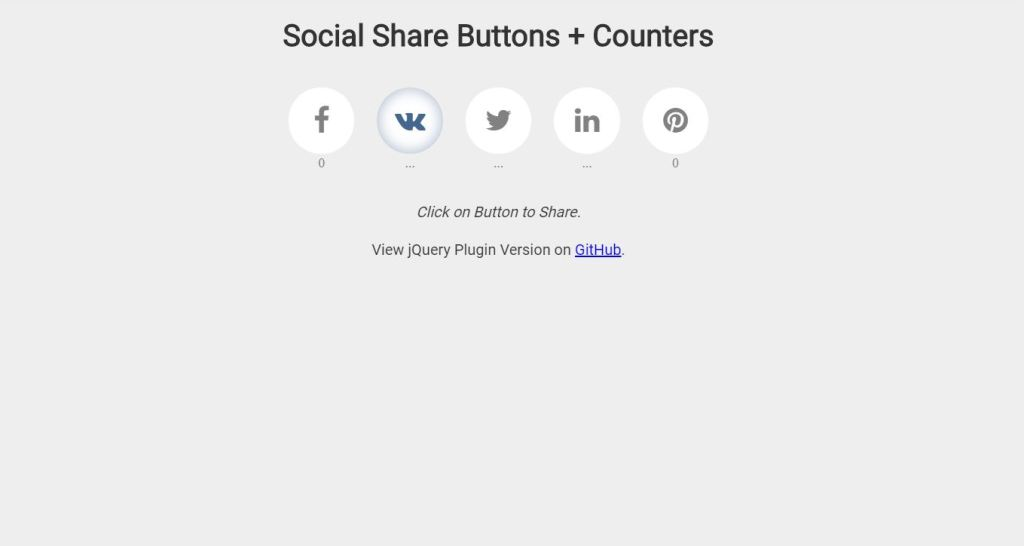 social counters