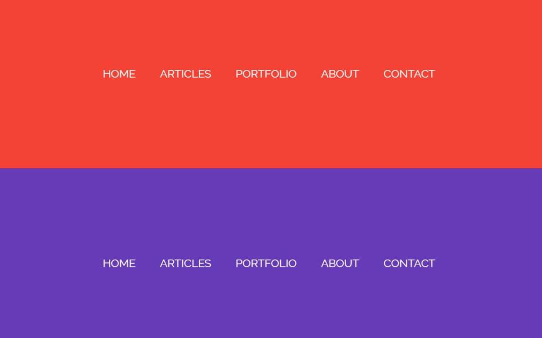 Bootstrap Page Transitions Effect Examples