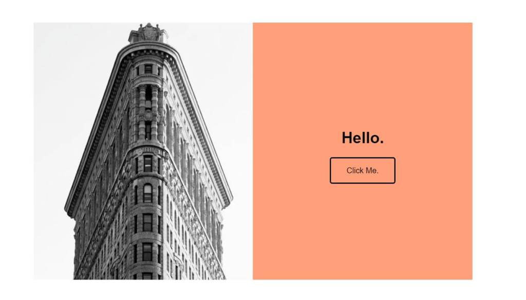 Page transition examples