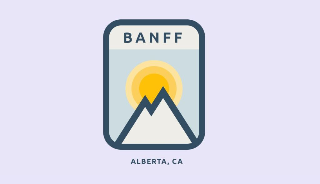 Animated CSS Banff Badges