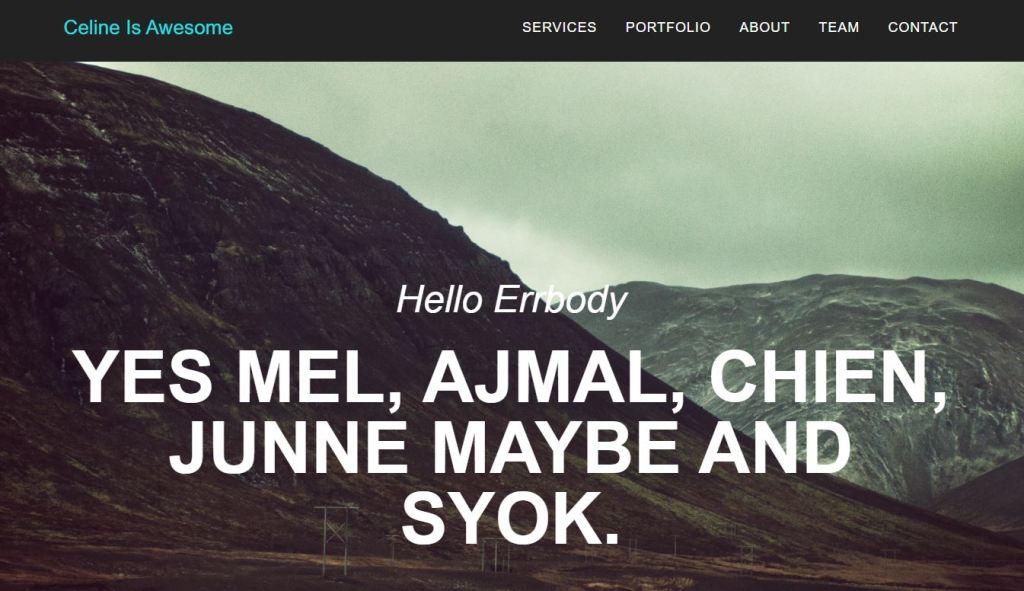 Awesome HTML CSS JavaScript Navbar