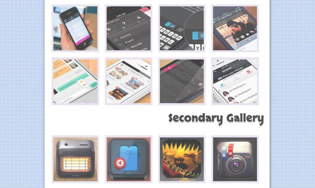 Basic Image thumbnail design