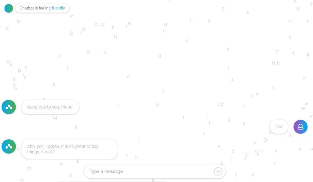 Emotional JavaScript/JS Chat Box