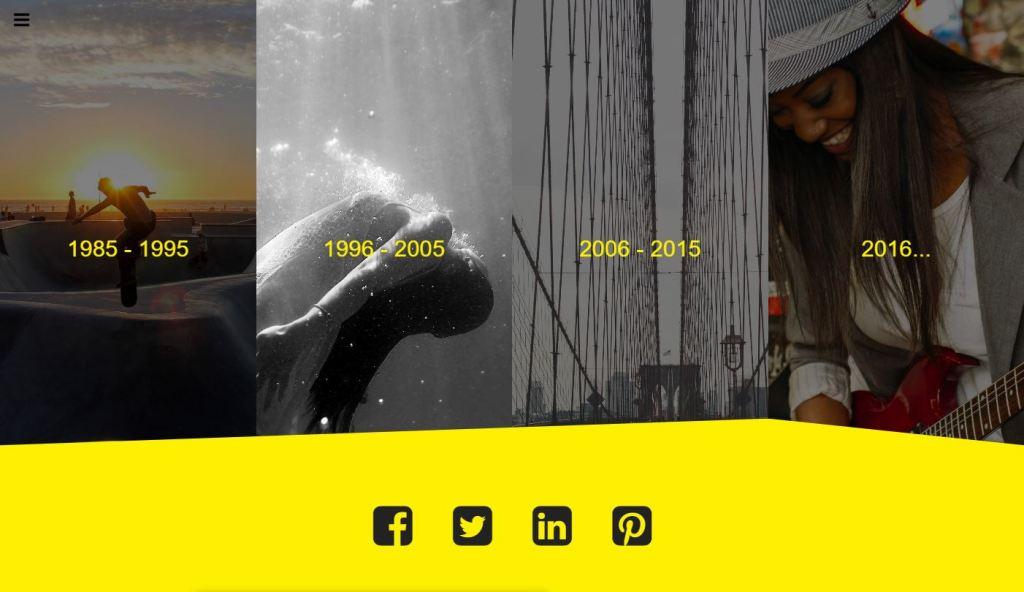 Full Screen Website Menu Source Code