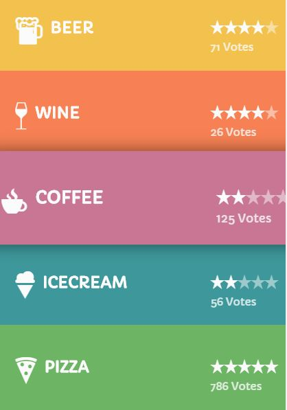 Simple JavaScript mobile Nav menu example with scroll and hover effects