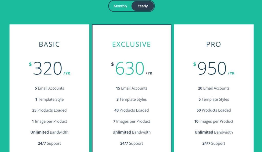 Flip HTML CSS JavaScript/JS Pricing Table design