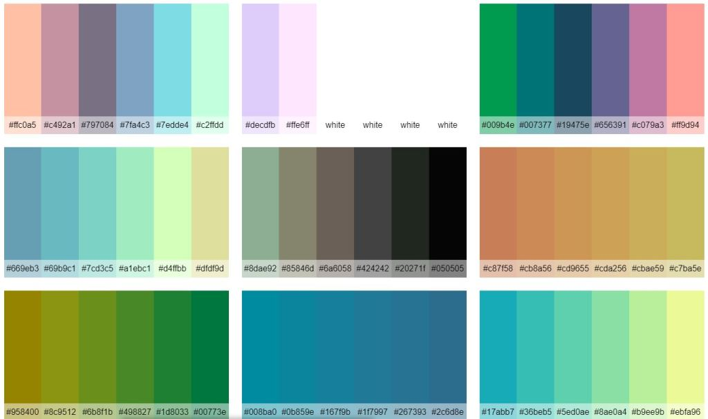 Bootstrap Sass Color Palette Generator