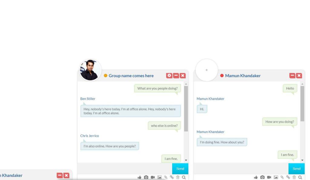 Stylish Chatroom Window Design