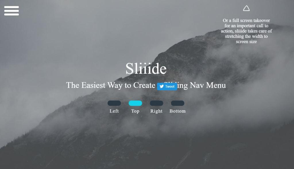 Jquery Slide menu