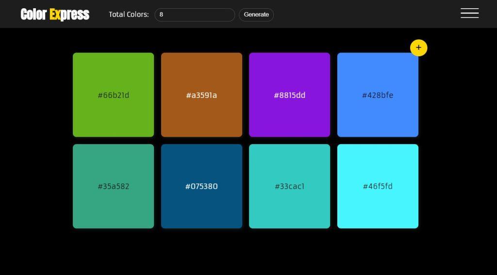 JavaScript/JS Color Scheme Example