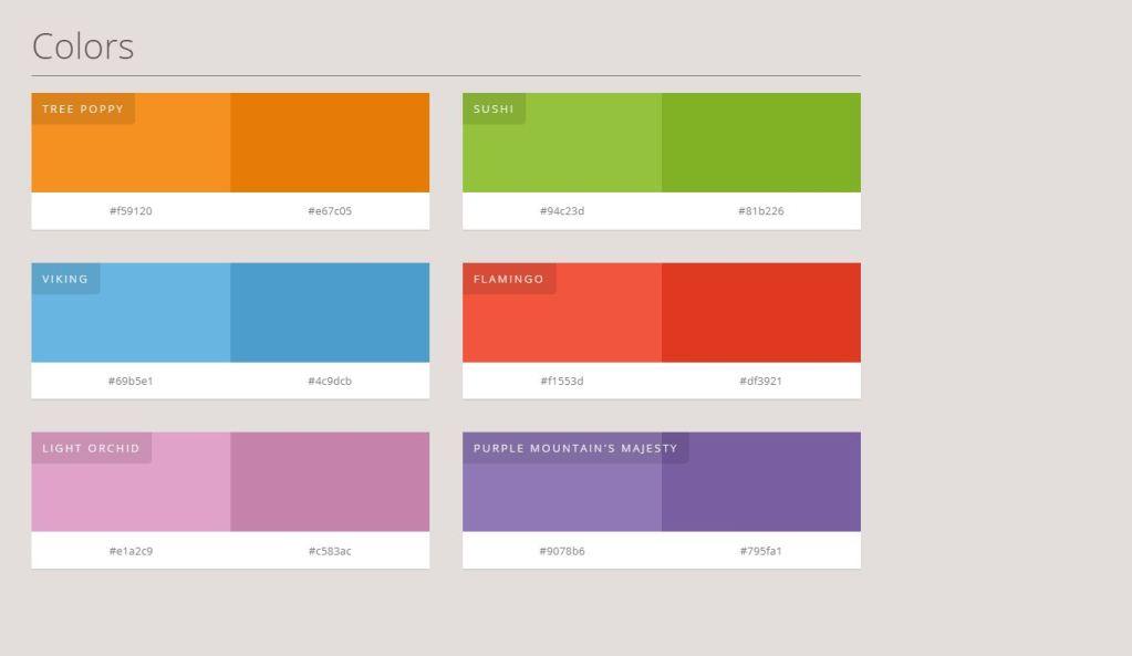JavaScript/JS Color Palette
