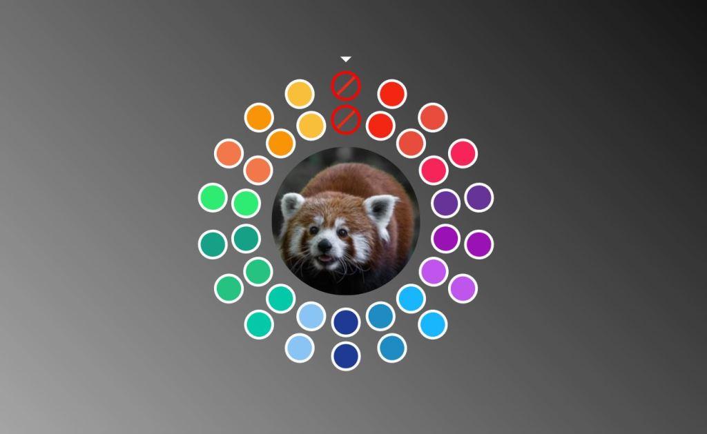 Duotone Filtering ColorPalette Design