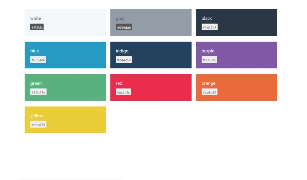 Styleguides Insert Hex Color