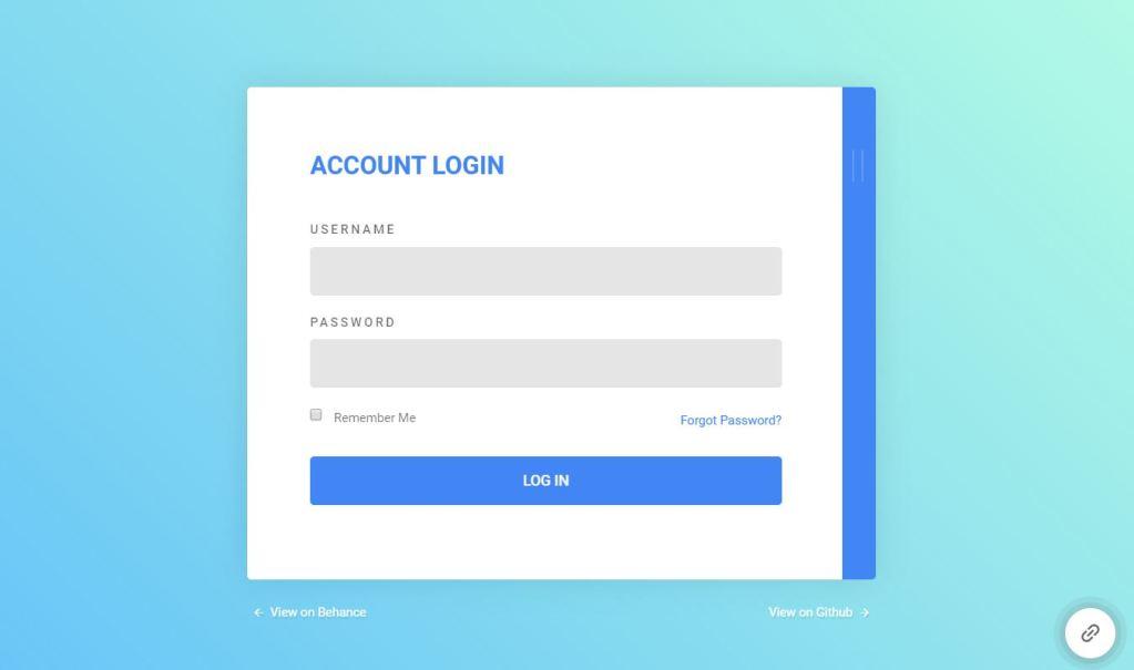 JavaScript login form Modal