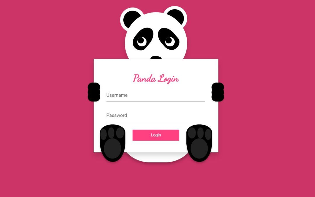 JavaScript Login Form Design Examples with Source Code
