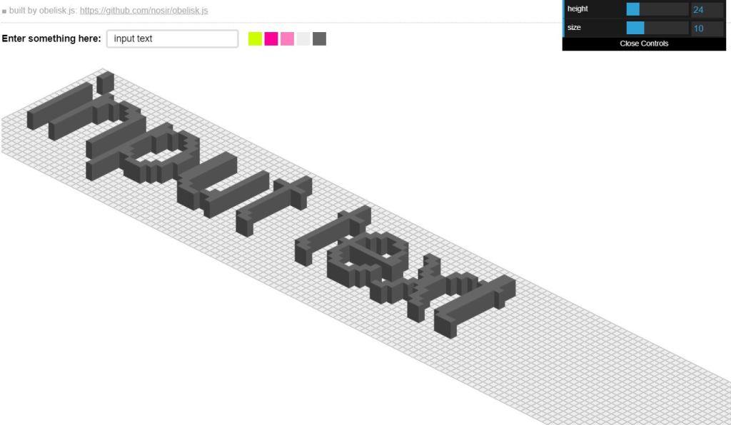 Pixel Isometric InputText
