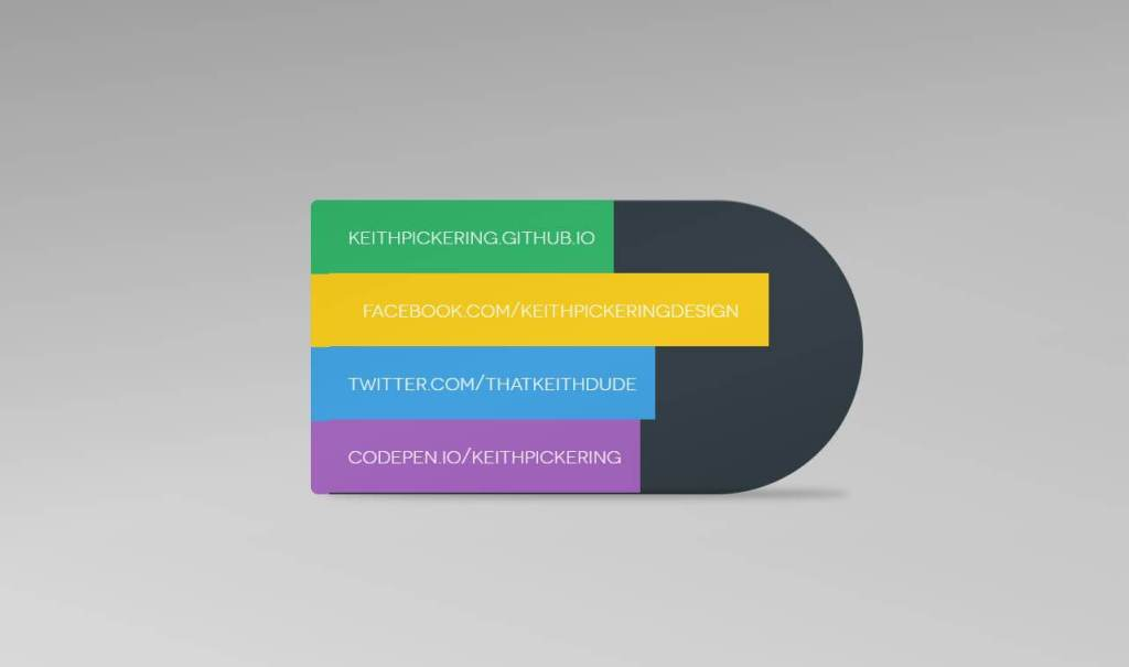JS Business Cards Example