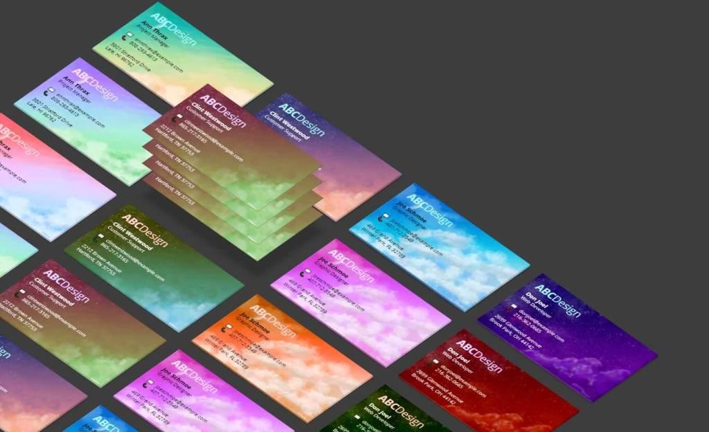 Isometric CardGrid