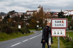 They named a village after me! In Basque (the French version is Sare). Both of us are certified GMO free.