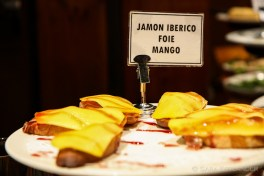 San Sebastian's pintxos can be heaven on a slice of bread: jamon so tender it melts in your mouth, creamy foie gras, tangy sweet mango, and a lick of raspberry coulis on top. I nearly wept.