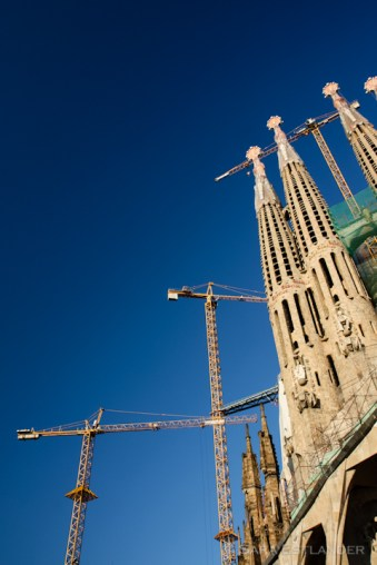 They're still building the Sagrada Familia, after 130 years.