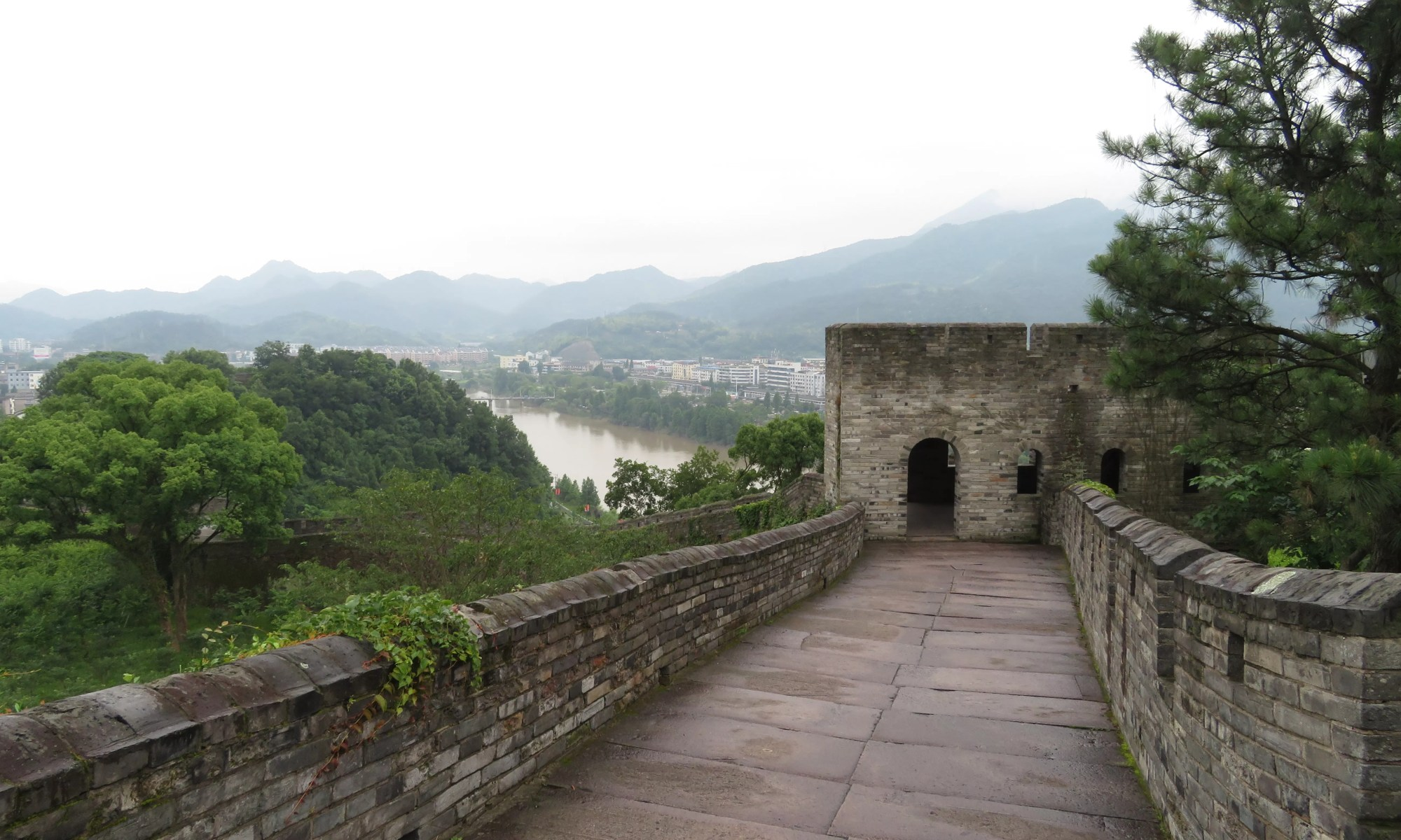 City Wall, Linhai, Zhejiang, China