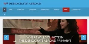 how to vote in the primary from overseas, How to Vote in the Primary From Overseas