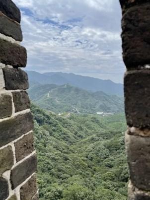 The Great Wall of China near Beijing - onaroadtonowhere.com