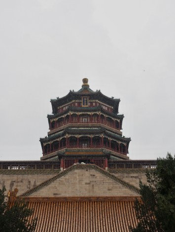 The Tower of Buddhist Incense - Summer Palace Beijing - onaroadtonowhere.com
