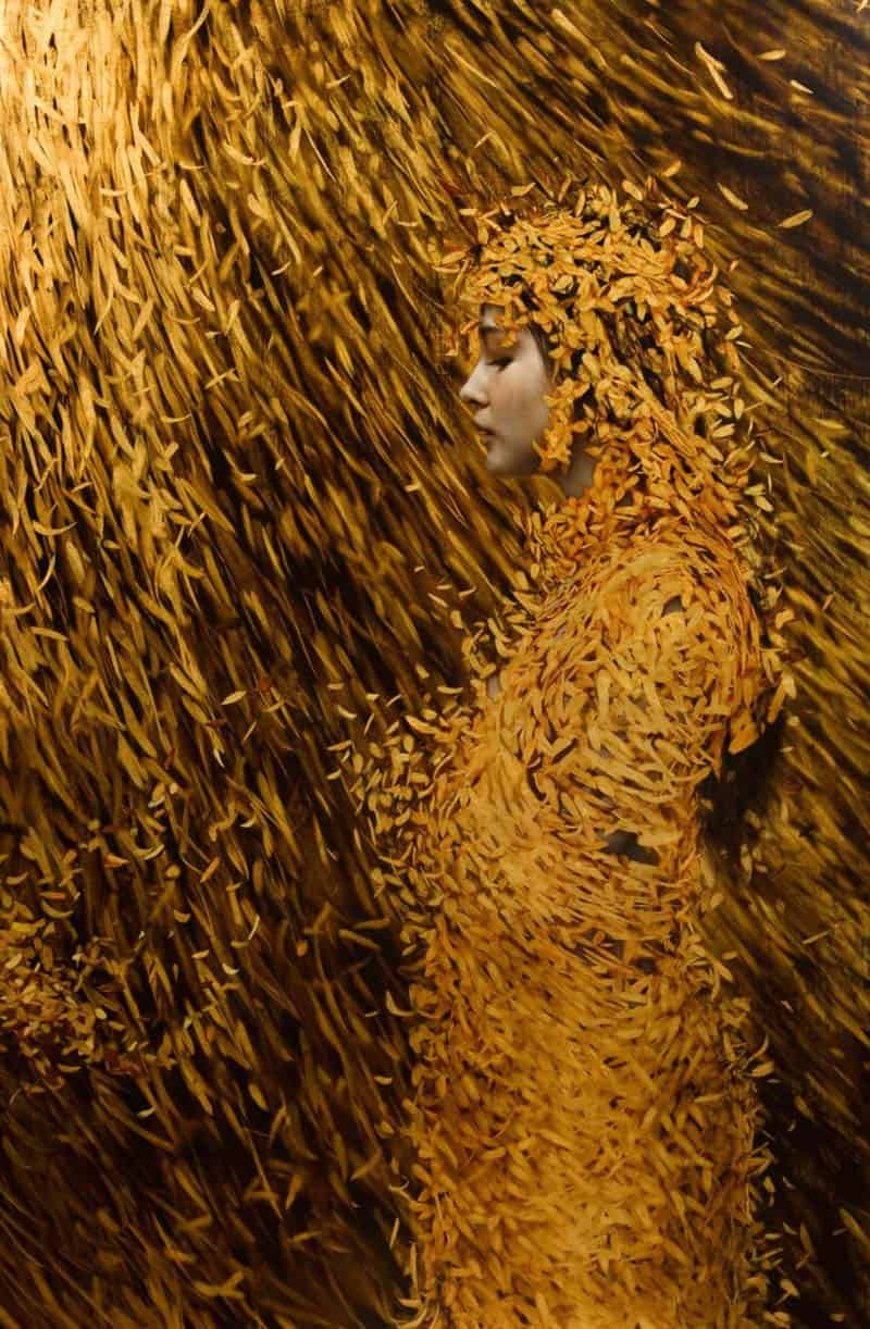 Brad Kunkle  Realism  Gold Leaf