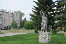 Sculpture en gare
