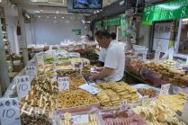 Vendeur de pâtisseries
