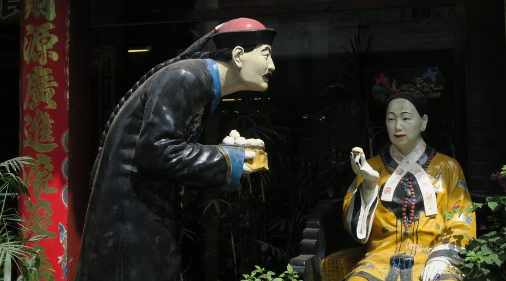 Statues aux dumplings